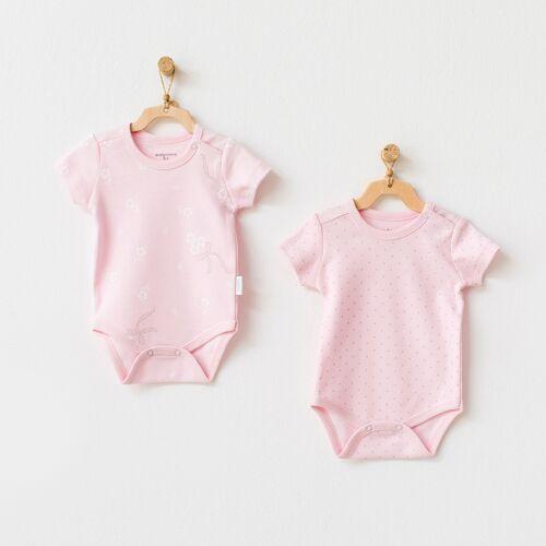 Andywawa Set van 2 Babymeisjes Rompertjes