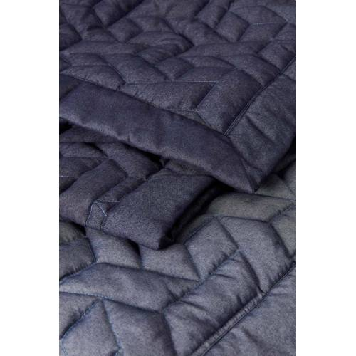Auping sprei Revival Blue 260x260  - Blauw - Size: 260x260