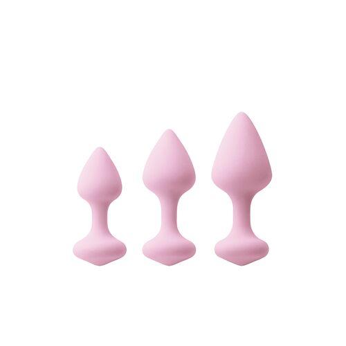 Inya set van 3 anaalplugs
