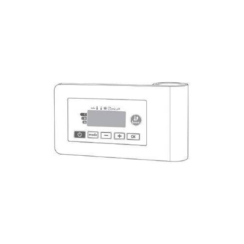Vasco E-VOLVE regeling voor zuiver elektrische badkamerradiatoren E-V 9016 118400500009016