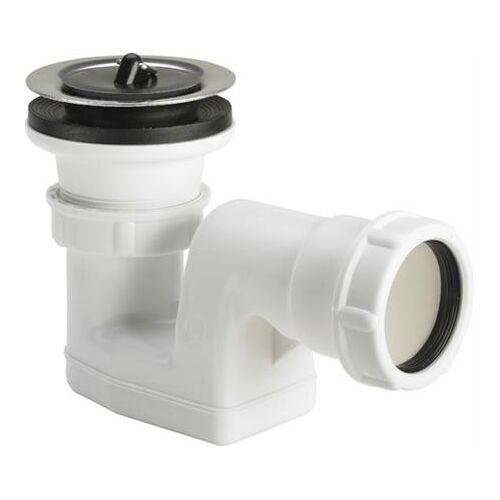 Viega afvoer voor douchebak met afvoeropening-O 52, inclusief sifon, waterslothoogte 30mm, afvoercapaciteit opstuwhoogte 120mm