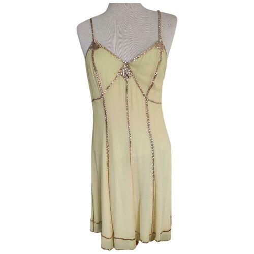 Donna Karan Midi jurk Donna Karan Geel S / 36