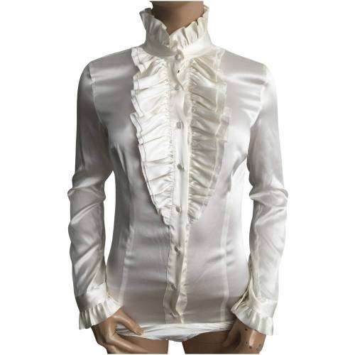 Brian dales Blouse Brian Dales Wit XL / 42