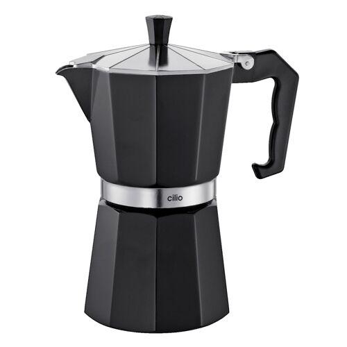 Cilio Espressomaker Classico Cilio zwart  - Zwart - Wonen