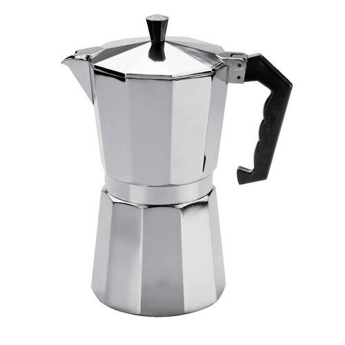 Cilio Espressomaker Classico Cilio zilverkleur  - Zilver - KERST