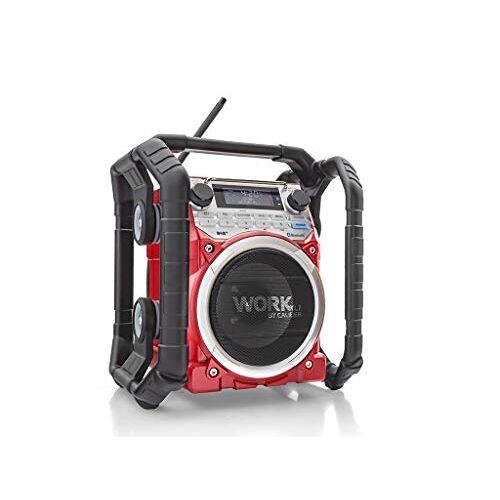 WORKXL1 Caliber  bouwplaatsradio DAB+, UKW AUX, Bluetooth accu-laadfunctie, wasse
