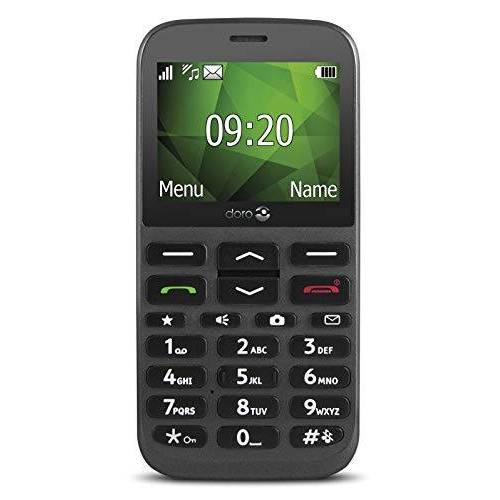 1370 Doro  GSM mobiele telefoon met camera (3 MP, HAC, Bluetooth)