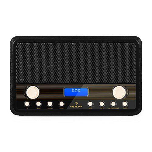 4260365798967 Auna Digidab Retro Radiorecorder