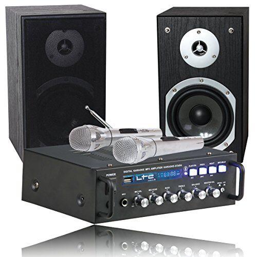 KARAOKE-STAR4-MKII Ltc 10-7026 All-in-1 karaoke set 2 x 75 W met Bluetooth