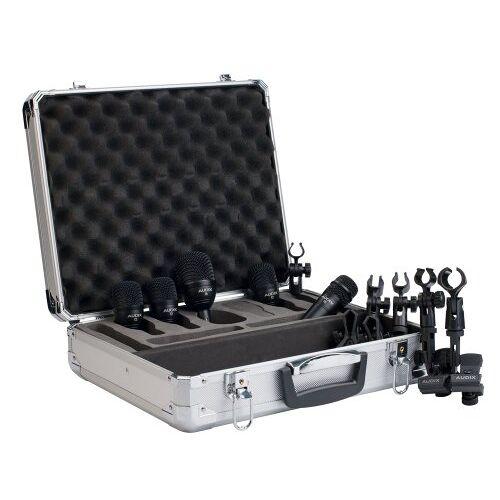 FP5 Audix FP-5 microfoonsamenstelling voor drumsets met 5 microfoons.