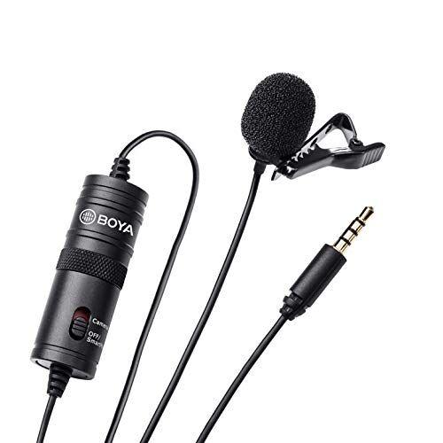 BY-M1 Boya BY by M1 Wisselframe microfoon voor DSLR-camera, smartphone, camcorder, audio blokfluiten, zwart