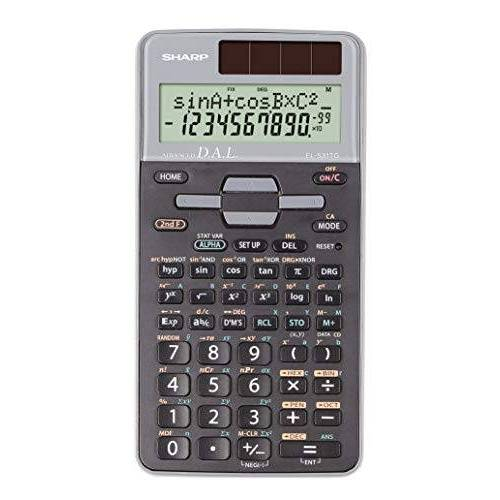 SH-EL531TGGY Sharp  Wetenschappelijke Calculator