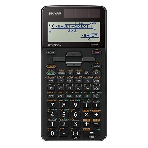 ELW506T Sharp EL-W506T GY Wetenschappelijke Calculator, EL-W506T-GY