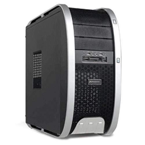 PH3806 Phoenix Technologies  computerbehuizing (desktop, PC, SGCC, staal, zwart, zilver, ATX, Micro ATX, 80,92,120 mm)