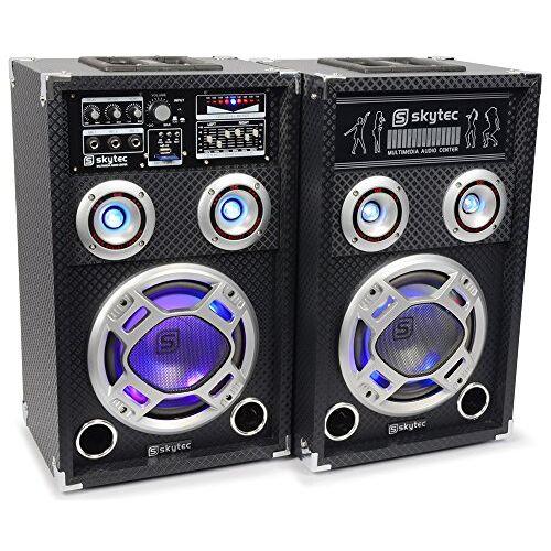 178.403 Skytec KA-06 karaoke-set met verlichting