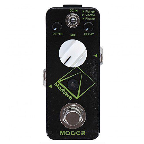 MRV5 Mooer ModVerb gitaareffecten pedaal