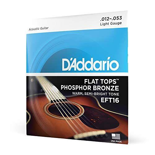 EFT16 D'Addario  Fosfor Brons akoestische gitaren snarenset 012' 053'