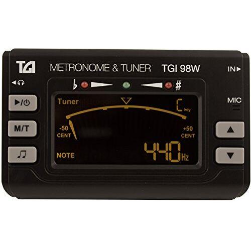 TGI98W TGI Stemapparaat/metronoom, hout- en blaasinstrumenten, inclusief clip,