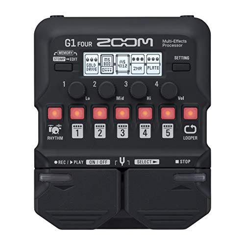 G1 FOUR Zoom  gitaareffect multi-effect