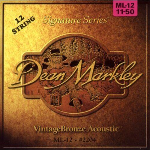 2204 Dean Markley  snaren voor 12-snarige akoestische gitaren, sterk licht