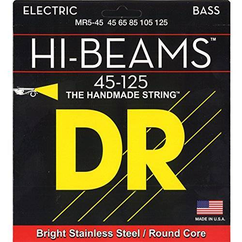 MR5-45 DR String  Hi-Beam snarenset voor basgitaar