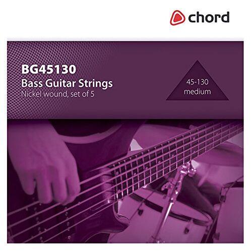 173.196UK akkoord BG45130 Bass Gitaar snaar (Pack van 5)