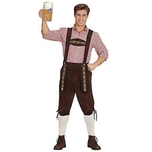 65694 WIDMANN Volwassen Beierse leren broek