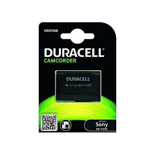 DR9706B Duracell  Li-Ion Camcorder Vervangt batterij voor NP-FV70