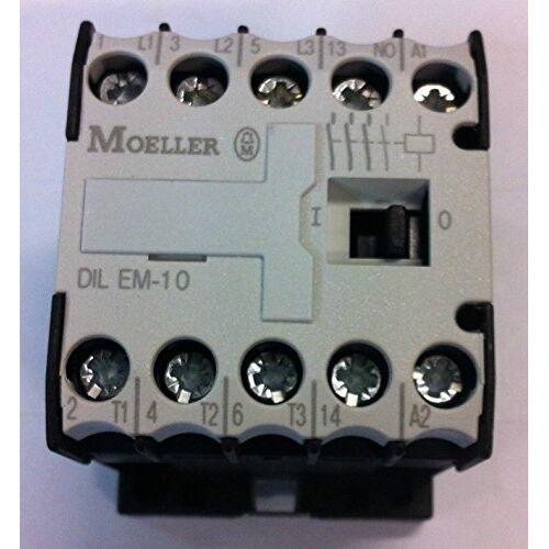 010005 Eaton  vermogensbescherming, 3-polig + 1 sluiter, 4 kW/400 V/AC3.