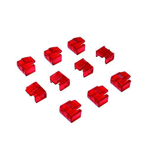 MP0043 LogiLink RJ45 1 Port X en 10 x sloten 10 x sloten rood
