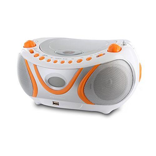 477133 Metronic Gulli Radio/CD-speler/MP3-speler Oranje