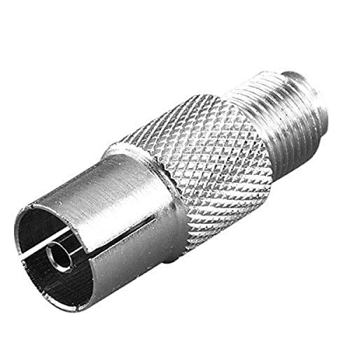 STD Vivanco SAT-adapter, F-koppeling  coaxkoppeling