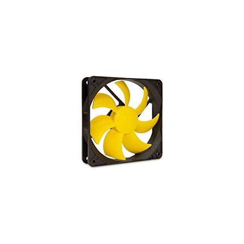 EFX-12-12 SilenX efx-12 – 12 pc-behuizing ventilator ventilator, koeler en radiator – ventilator, refoidisseurs en radiatoren (pc-behuizing, ventilator, 12 dB, geel, 1,08 W, 8 – 12)