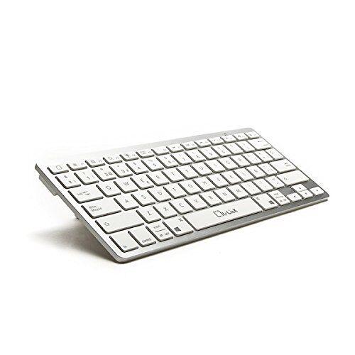 LL-KB-6110 L-Link  toetsenbord voor mobiele apparaten QWERTY Spaans wit Bluetooth toetsenborden voor mobiele apparaten (QWERTY, Spaans, mini, wit, Bluetooth)