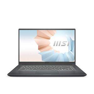 "Modern 15 A11M-015NL (Personal Laptop, 15.6"" 60Hz thin bazel, i5-1135G7, 8GB RAM, 512GB SSD, Windows 10) QWERTY Nederlands Toetsenbord, Grijs"