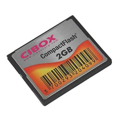 CFCIB2GB Cibox CF CompactFlash 2GB geheugenkaart