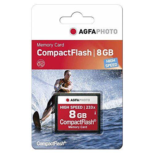 10433 AgfaPhoto 233x High Speed MLC Compact Flash (CF) 8 GB geheugenkaart