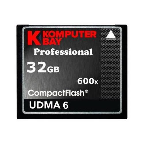 KB_32GB_COMPACTFLASH_600X KOMPUTERBAY 32GB Professionele COMPACTE FLASH KAART CF 600X 90MB/s Extreme Speed UDMA 6 RAW 32 GB