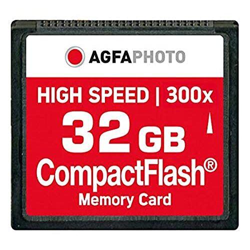 10435 AgfaPhoto 120x High Speed MLC Compact Flash (CF) 32 GB geheugenkaart