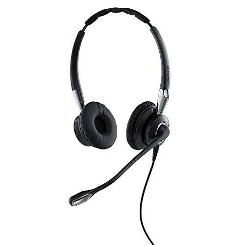 Q711383 Jabra Biz 2400 II Duo USB callcenter-kabel-headset voor UC/softphones/USB-tafeltelefoons, controller met programmeerbare toetsen, ruisonderdrukking
