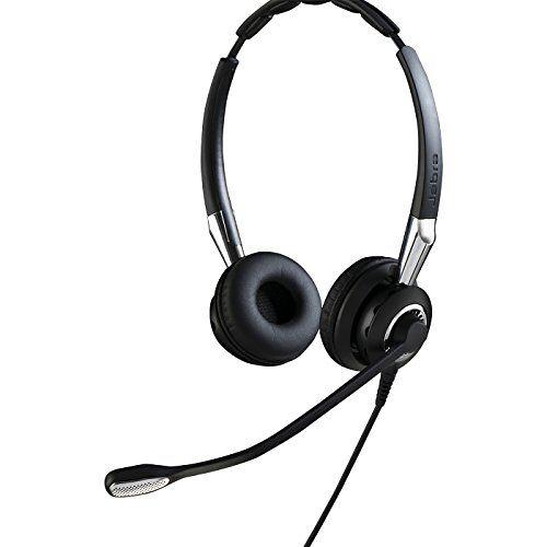 Q711364 Jabra BIZ 2400 II QD Duo duurzame callcenterkabelheadset voor vaste telefoons met ruisonderdrukking en brede band