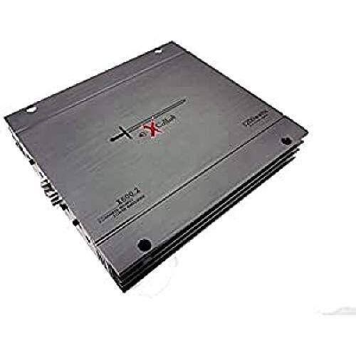 X600.2 Excalibur  autoversterker 2 kanalen, vermogen 1200 W, crossover variabel, 2 Ohm