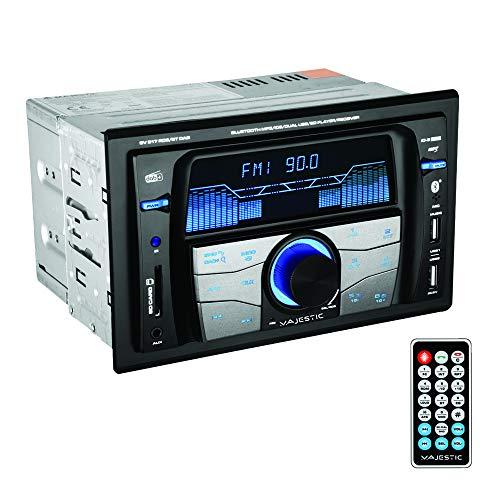 100517_BK Majestic SV 517 RDS BT Dab autoradio FM Stereo Dab+ Bluetooth, dubbele DIN, USB/SD/AUX-in, USB-oplader, 180W (45x4ch), zwart