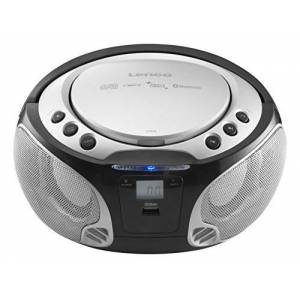 SCD-550 silver Lenco SCD CD-speler voor kinderen Zonder karaoke zilver