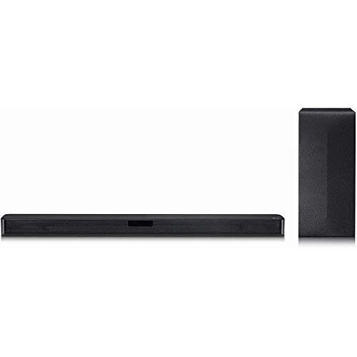 LG DSN4 2.1 geluidssysteem met 300 watt, DTS Virtual: X, met HDMI en ARC