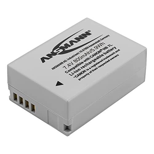 5044523 ANSMANN  A-Can NB7L Li-Ion Digicam accu 7,4 V/800 mAh voor Canon foto digitale camera