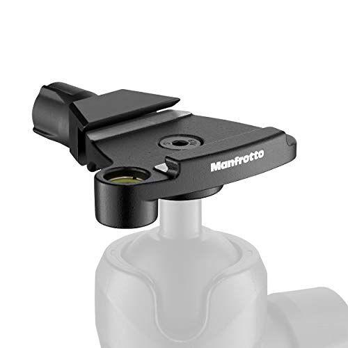 MSQ6T Manfrotto  Traveler Top Lock snelwisseladapter Arca-compatibele platenvoorziening voor Befree statieven, perfect voor Manfrotto 494 en 496 kogelkoppen compact en licht aluminium