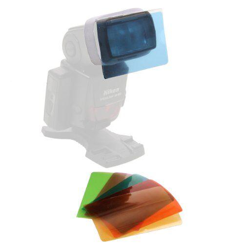 16964 Walimex kleurfilter set voor compacte flitsen (6-delig)