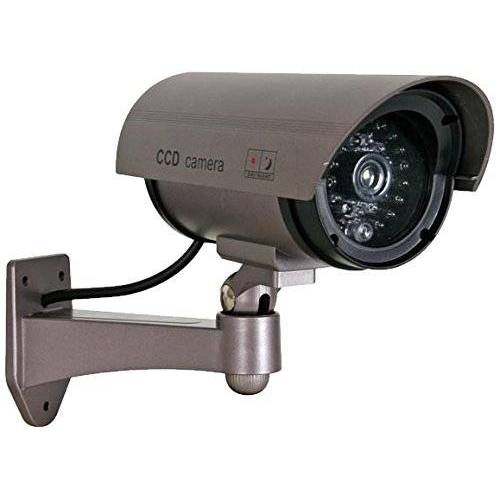 CAMD7N Velleman Dummy Bullet Camera met Dummy IR LED en rode LED