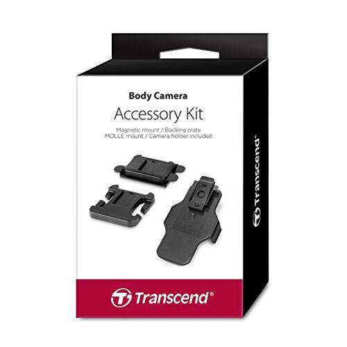 TS-DBK2 Transcend  accessoirekit voor Bodycam TS-32GDPB20A (bevat een magnetische bevestigingsclip, een MOLLE houder en een camerahouder)